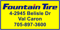 Fountain Tire - Val Caron