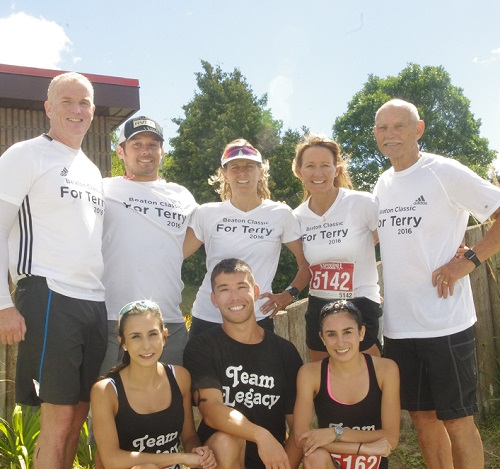Friends and family, and friends of family of Terry McKinty raced in his honour Sunday morning at the 2016 Beaton Classic, the first event staged since the passing of the founder of the quadrathlon last winter
