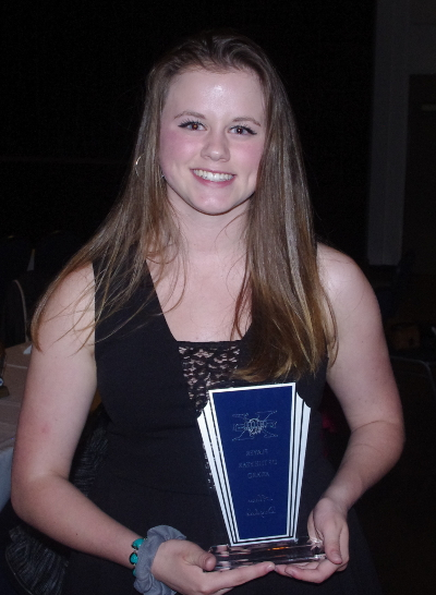 The 10th anniversary Evening of Excellence would see several members of the Northern Chill Volleyball Club recognized, including veteran Alana Dugdale, recipient of the Player of the Year honours