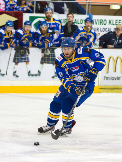 Sudbury native Bobby Chaumont has completed his third year with the Fife Flyers (Scotland), the latest stop on a pro hockey career that has now spanned more than a decade