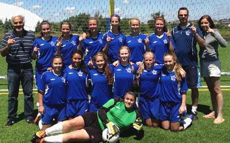 After capturing the OWSL Regional Premier championship, the Sudbury Canadians are slated to move to the top level of play, battling in the Senior Provincial grouping in 2014