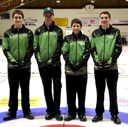 The Tanner Horgan rink has qualified for the 2014 Optimist International Curling Competition in British Columbia in March after beating a southern Ontario opponent for the Provincial Bantam crown