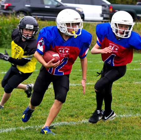 A Labour Day tradition is back as the Joe MacDonald Youth Football League kicks off the 2014 season with a total of four games on Monday at the James Jerome Sports Complex