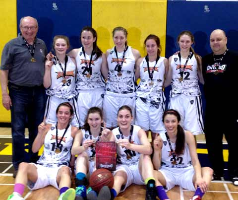 Getting the gold medal matchup that everyone was hoping for, the Sudbury Jam stopped the Timmins Selects 35-30 in the final of the Ontario Cup U17 Girls provincials on Sunday at Laurentian