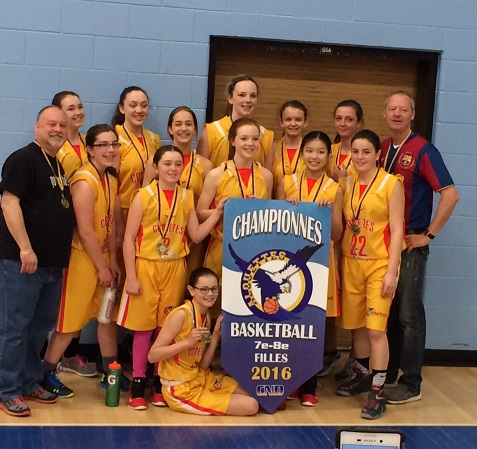 The Jean-Paul II Cometes bolted to a 16-0 lead, holding on top defeat Macdonald-Cartier 29-18 in a tournament final at CND Saturday