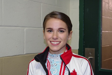 In early December, Jennavieve Hinton-Canard will join several skaters from Northern Ontario, heading west to the Skate Canada Challenge in Edmonton