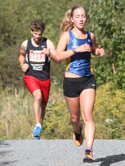 Posting a time of 18:39, Sudbury native Katie Wismer led the way for the L.U. ladies cross-country team which established a new school record for the fastest top five average time at the Ramsey Tour 5km race