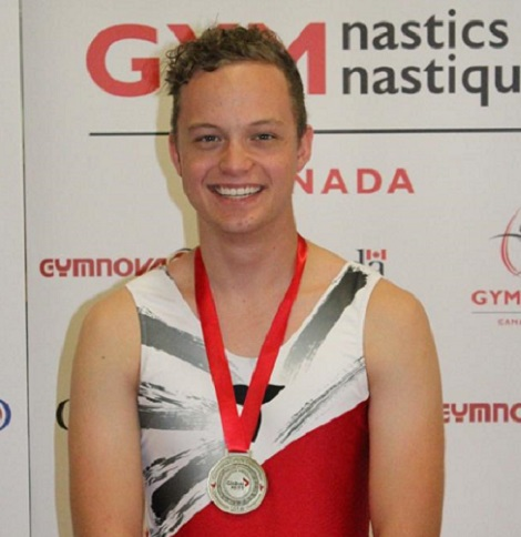 Sudbury trampolinist Kyle Lapierre captured gold at nationals for the second time in his career with the Laurels, albeit at Canadian Championships that were four years apart