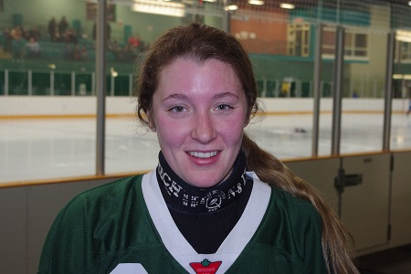 Renee Delarosbil and her teammates with the Valley East 18+ Open Womens team were just one of 31 squads who gathered at Countryside last weekend for the Sudbury Ringette Tournament