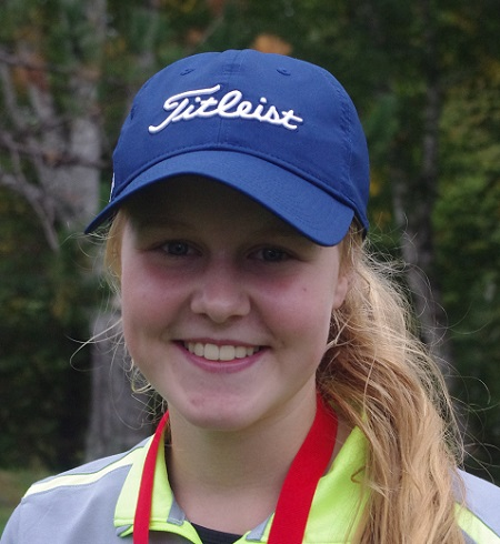 Two new SDSSAA golf champions were crowned Thursday in Lively, as Julia Plexman (above) and Alexander Fowke topped their respective fields