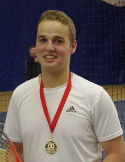 House of Kin High School Male Athlete of the Year nominee Sebastien Dugas-Ruest successfully defended his SDSSAA mens singles tennis title