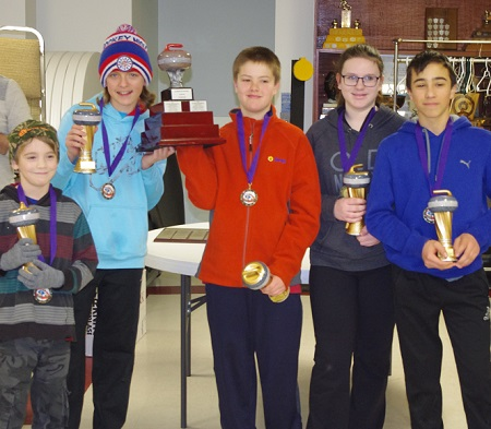 Make it a three-peat for the curling crew of St Paul the Apostle in Coniston, knocking off Felix Ricard in the final of the Sudbury Elementary Curling Bonspiel last weekend