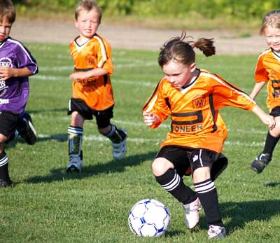 Soccer action in several local recreational leagues, including the Walden Minor Soccer Association, will slowly wind down with August now upon us